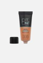 Maybelline - Fit me foundation matte & poreless - 335 tan