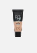 Maybelline - Fit me foundation matte & poreless - 230 natural buff