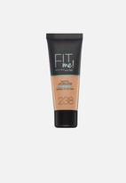 Maybelline - Fit me foundation matte & poreless - 238 rich tan