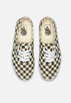 Vans - Authentic - (Blur Check) black/classic white