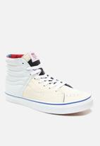 Vans - SK8-Hi - (Outside In) natural/stv navy/red
