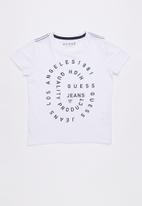 GUESS - Guess g tee - white