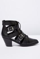 Cotton On - Ariana ankle boot - black