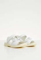 POP CANDY - Bow detailed sandal - white