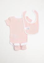 Converse - Classroom pets infant set - pink