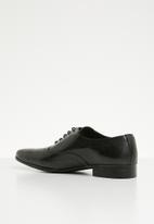 basicthread - Jonathan leather oxford - black