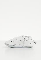 shooshoos - White speckled egg slip on - white