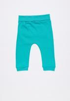Baby Corner - Dino harem pants - blue