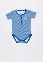 Baby Corner - Dino 2 pack printed short sleeve bodysuits - multi