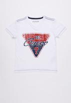 GUESS - Guess est. 1981 tee - white