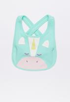 Baby Corner - Unicorn 2 Pack Bandana Bib Multi-colour