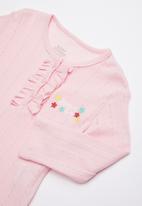 Baby Corner - Unicorn printed pyjama set - pink