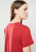 STYLE REPUBLIC - Girl gang T-shirt - red