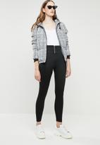 STYLE REPUBLIC - Front zip leggings - black