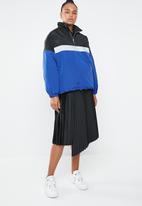 Missguided - Overhead colour block parka - multi