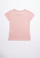 GUESS - Short sleeve classic tri tee - pink