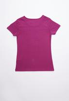 GUESS - Short sleeve Guess girl tee - purple