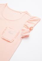 GUESS - Short sleeve Guess flutter tee - pink