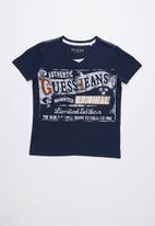 GUESS - Originals tee - blue