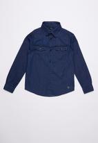 GUESS - Denim shirt - blue