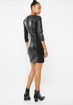 ONLY - New linn mix dress - black