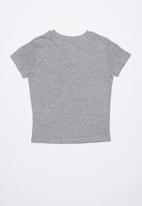 KAPPA - Authentic estessi slim tee - grey