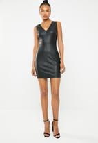 ONLY - Annabelle stud detail dress - black