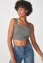 Cotton On - Stacey tank - black