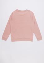GUESS - Long sleeve fashion quatro active top - pink