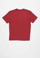 RVCA - Big rvca short sleeve tee - red
