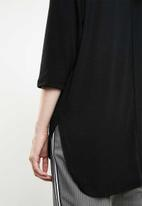 Superbalist - 2 Pack textured knit top- black & brown