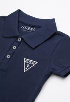 GUESS - Classic guess polo - navy