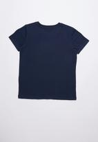 GUESS - Grid tee - navy