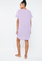 c(inch) - Sleep shirt - purple