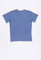 Quiksilver - Monster shaka tee - blue