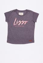 Lizzy - Mikaela printed tee - purple