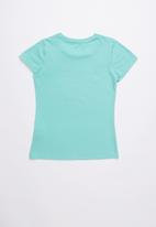 GUESS - Love tri tee - turquoise