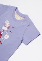 Lizzy - Millie printed tee - purple