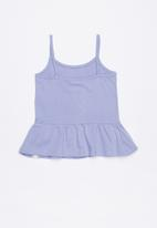 Lizzy - Bryni printed strappie tee - puple