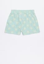 Lizzy - Zaira walk shorts - blue