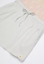 Lizzy - Loretta tee combo dress - pink & grey