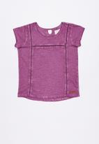 Lizzy - Giada printed tee - purple