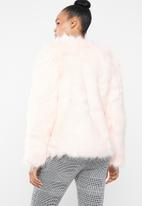 dailyfriday - Faux fur jacket - pink