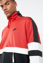 Nike - NSW Nike Air jacket - red & black