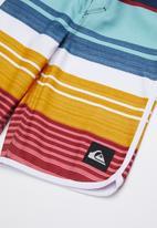 Quiksilver - Eye scallop shorts - multi