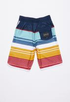 Quiksilver - Eye scallop shorts - multi
