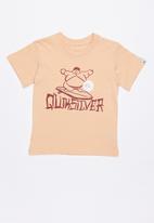 Quiksilver - Mini hang tee - peach