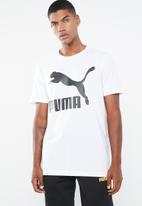 PUMA - Classics logo tee - white