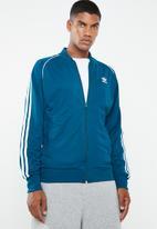 adidas Originals - SST track top - blue & white