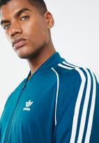 adidas Originals - SST track top - blue & white